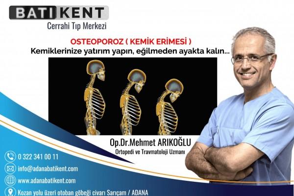 OSTEOPOROZ (KEMİK ERİMESİ)...