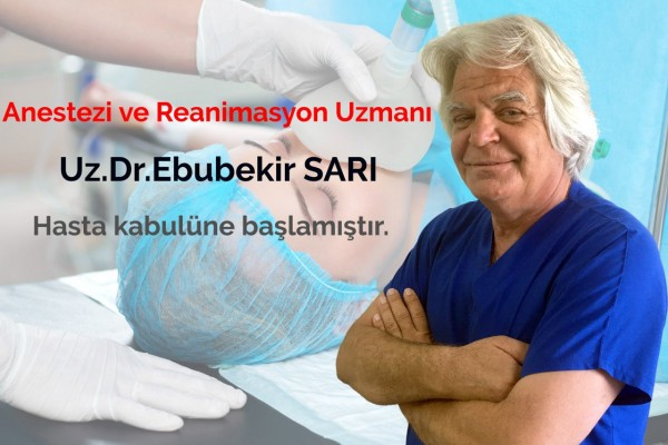 Anestezi ve Reanimasyon Uzmanı